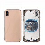 for iPhone XS Back Battery Cover Assembly Rear Housing Door With Middle Frame