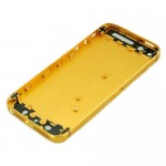For iPhone 5 Back Housing Cover Replacement Gold
