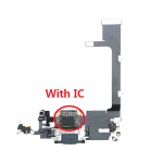 for iPhone 11 Pro Charging Port Dock Connector Flex Cable With IC And Mic Headphone Audio