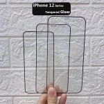 for iPhone 12 Pro Tempered Glass Full Screen Protector Film Touch Sensitive 5.4''Inch