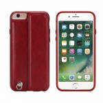 for iPhone 6 Wallet Case PU Leather with Card holder Flip cover for iPhone 6S with Strap Red