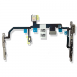 for iPhone 8 Plus Power On Off Flex Cable Switch Ribbon With Metal Bracket for Apple 8 5.5inch