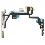 for iPhone 8 Power On Off Flex Cable Switch Ribbon With Metal Bracket for Apple 8