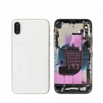 for iPhone X Back Battery Cover Rear Housing Door With Middle Frame Assembly