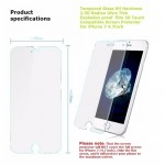 Protector For iPhone 8 4.7'' Tempered Glass 0.26mm 2.5D 9H Ultra Thin Clear Protective Film