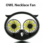 Mini Portable Electric Fan New Hot Owl Necklace Fan