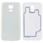 For Samsung Galaxy S5 G900 housing battery Door back cover White