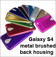 samsung galaxy S4 i9500 back housing metal brushed
