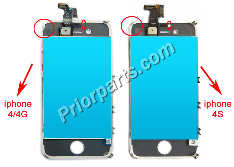 c19aec16c4f Difference between iPhone 4S and iPhone 4 LCD Screen Digitizer Assembly