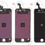 The difference between iPhone 5/5c/5s screen lcd assembly
