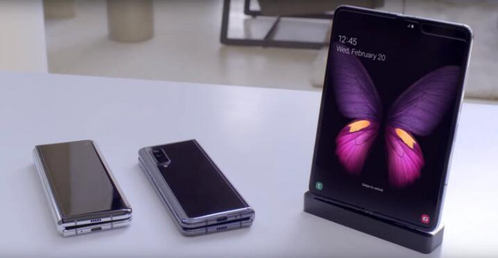 Samsung Galaxy Fold cellphone