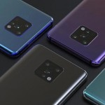 Huawei Mate 30 Rear Four Camera Design Compared To iPhone XI